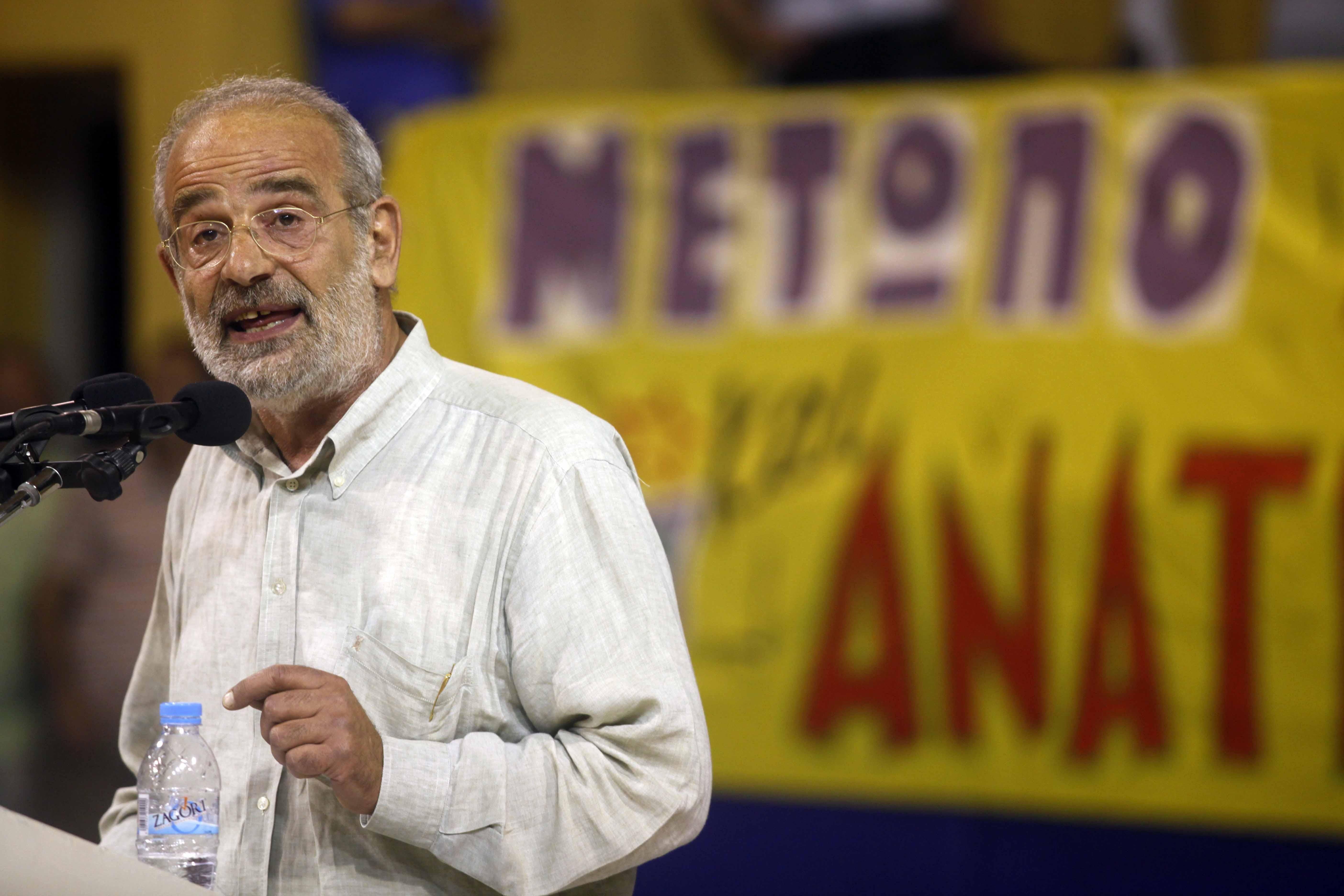 Δεν κατεβαίνει αυτόνομα στις εκλογές το «Μέτωπο» του Α. Αλαβάνου | tovima.gr