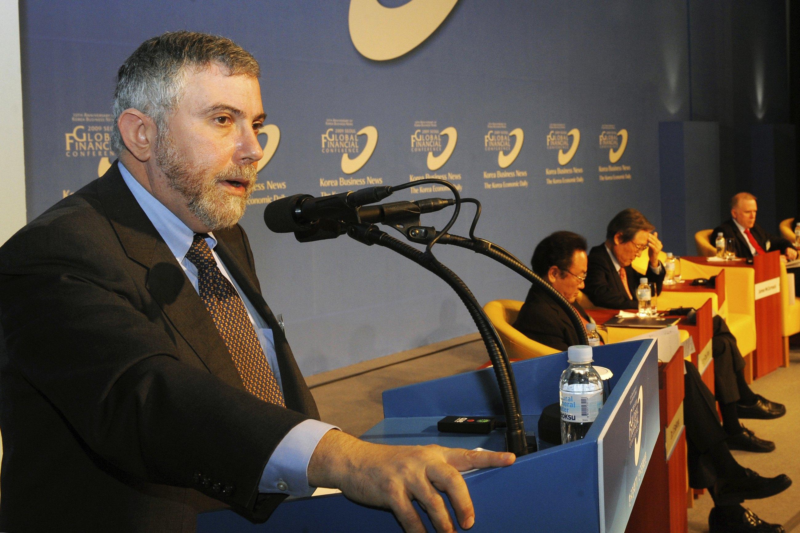 Πολ Κρούγκμαν : Αναπόφευκτη η έξοδος της Ελλάδας από το ευρώ | tovima.gr