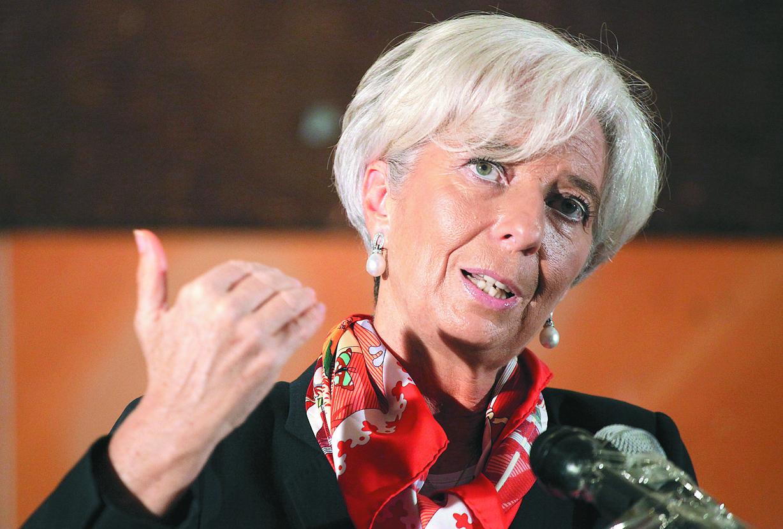 Λαγκάρντ: Το ΔΝΤ στηρίζει πλήρως το πρόγραμμα της ΕΚΤ | tovima.gr