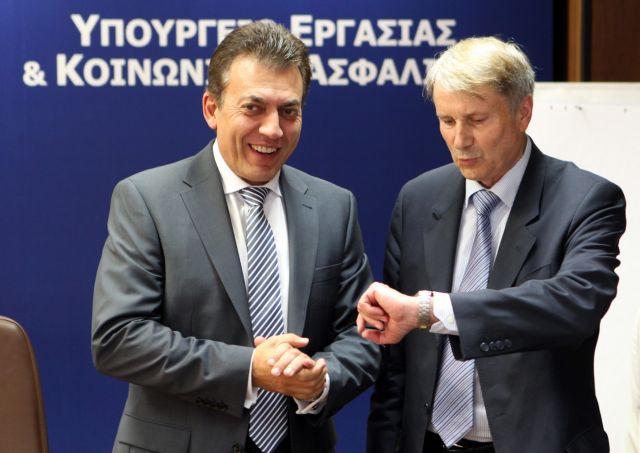 Την Τετάρτη συναντάται με τον Ράιχενμπαχ ο Ι. Βρούτσης | tovima.gr