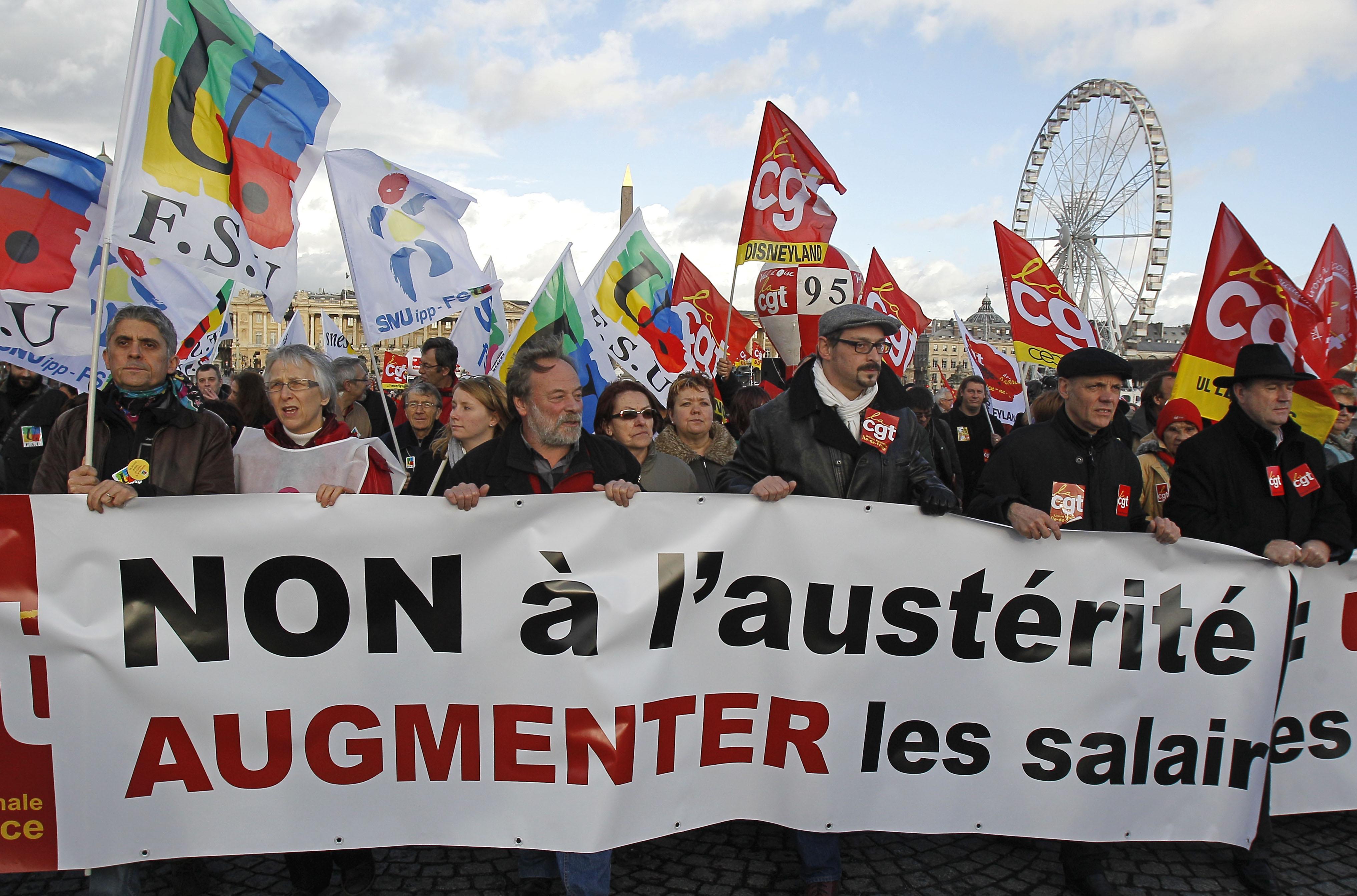 Παρίσι: Στο πλευρό των Ελλήνων το αριστερό μέτωπο της Γαλλίας | tovima.gr