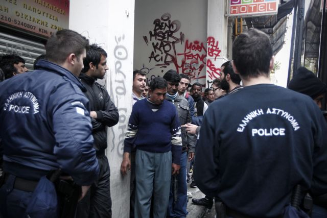 Human Rights Watch condemns Greek Police and 'Xenios Zeus' | tovima.gr