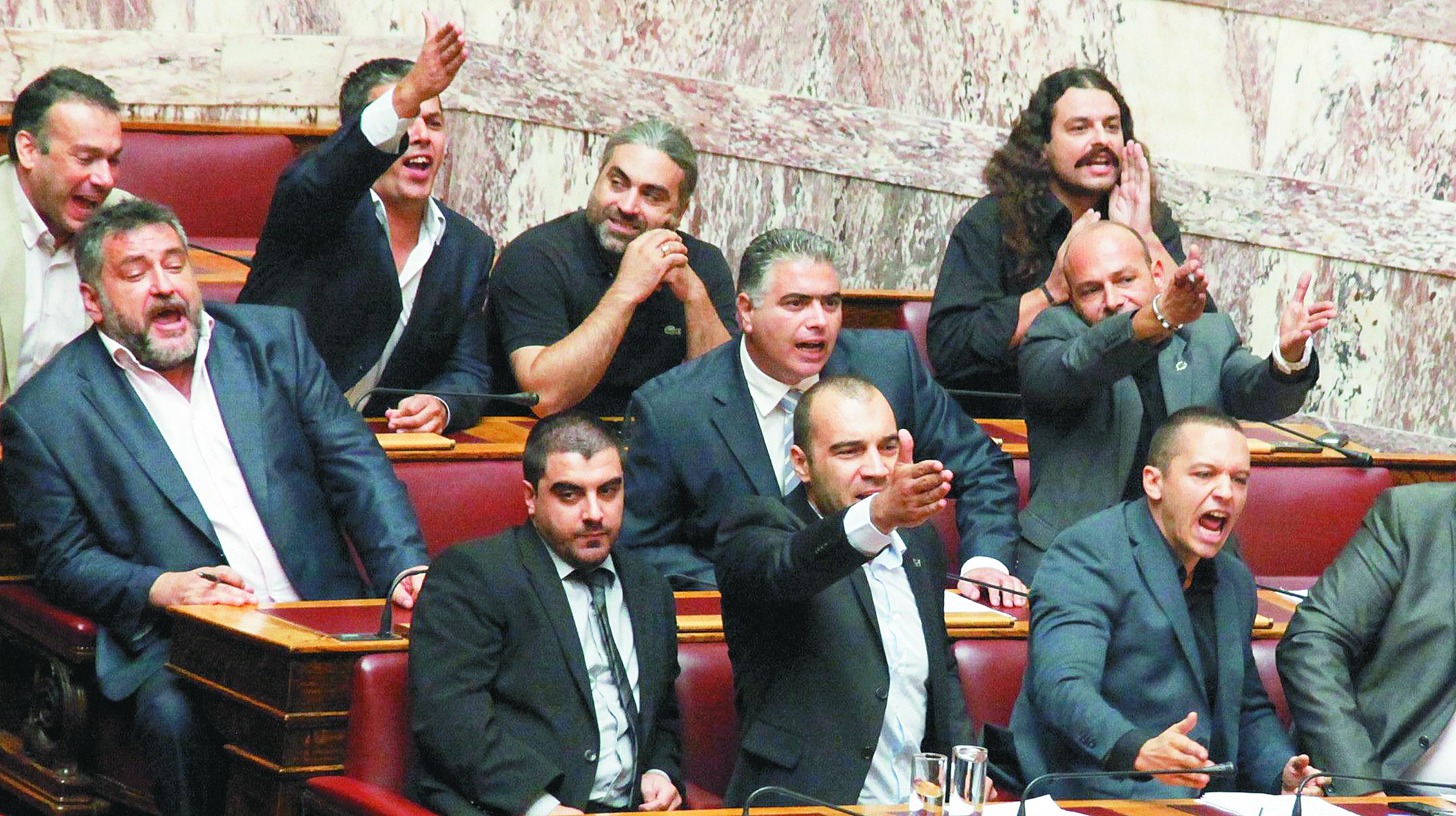 Ολομέλεια Βουλής: Αποφάσισε άρση ασυλίας των Κασιδιάρη-Κουκούτση   tovima.gr