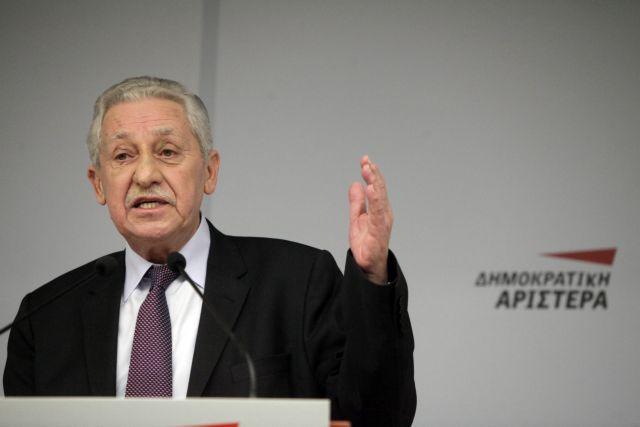Κουβέλης: Δεν αποκλείει ευρωψηφοδέλτιο με Ψαριανό-Παπαδόπουλο   tovima.gr