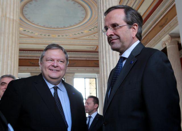 Samaras and Venizelos agree on university administrative employees | tovima.gr