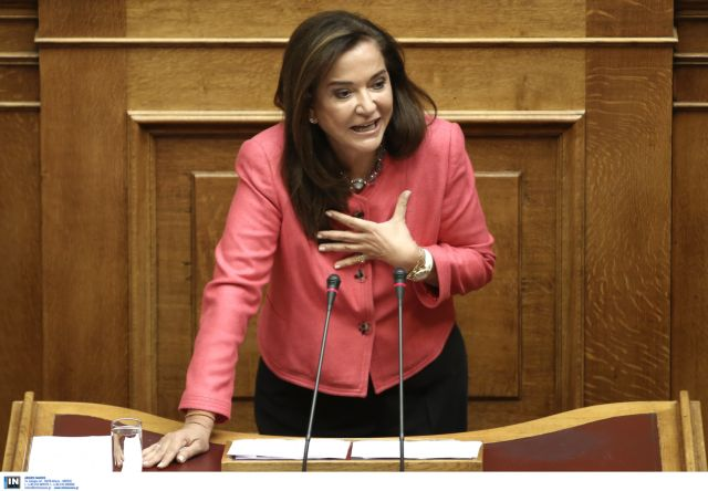 """Bakoyanni: """"Elect a new President now, Parliament must not shut down""""   tovima.gr"""