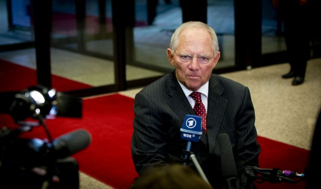 "Schäuble: ""Troika supervision necessary condition for ESM support"" 