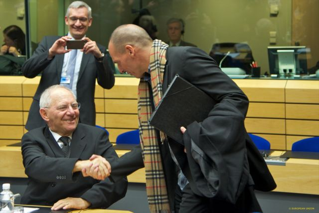 Athens and Berlin clash over Schäuble's comments on Varoufakis   tovima.gr