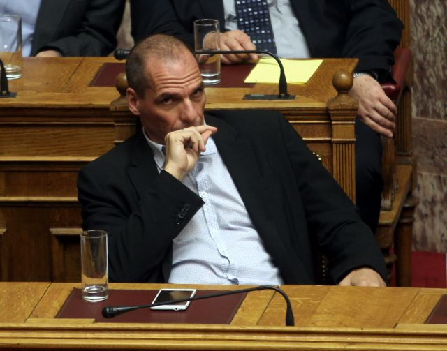 Varoufakis hints towards the possibility of a Greek default | tovima.gr