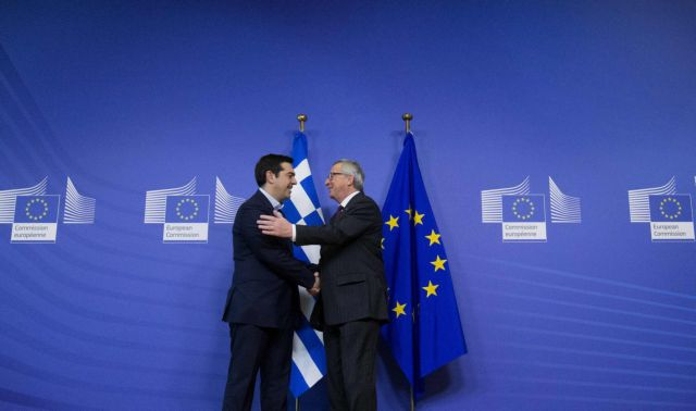Tsipras-Juncker issue joint statement paving the way for an agreement   tovima.gr