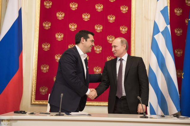 PM Tsipras arrives in Moscow, to meet President Putin on Friday | tovima.gr
