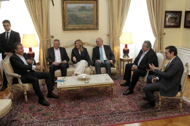 Tsipras-Meimarakis debate scheduled for 14 September | tovima.gr