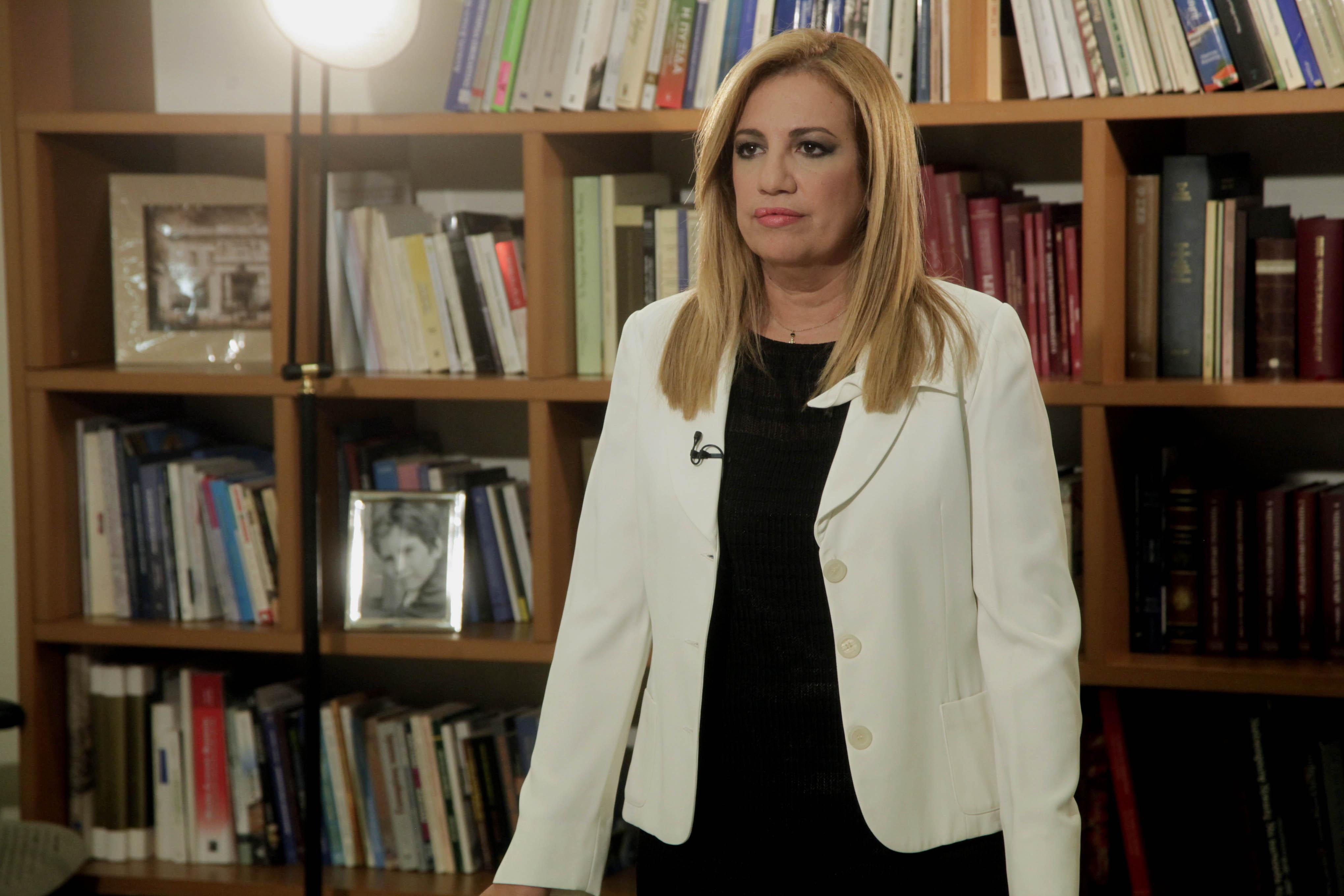 Γεννηματά: H κυβέρνηση δημιουργεί αρνητικό επενδυτικό κλίμα | tovima.gr