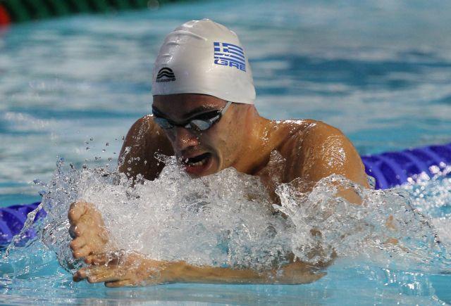 Έβδομος με διπλό πανελλήνιο ρεκόρ ο Βαζαίος στα 100μ. πεταλούδα | tovima.gr