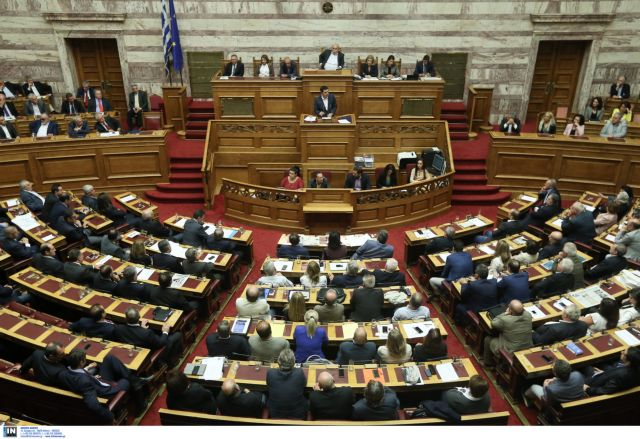 Fierce clash in Parliament over prior actions bill ahead of vote | tovima.gr