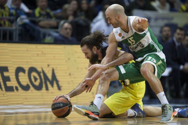 Euroleague Top16: Panathinaikos defeated by Fenerbahçe (82-75) | tovima.gr