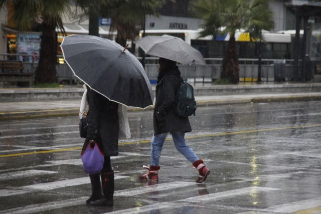 EMY issues warning for hail and thunderstorms on Monday | tovima.gr