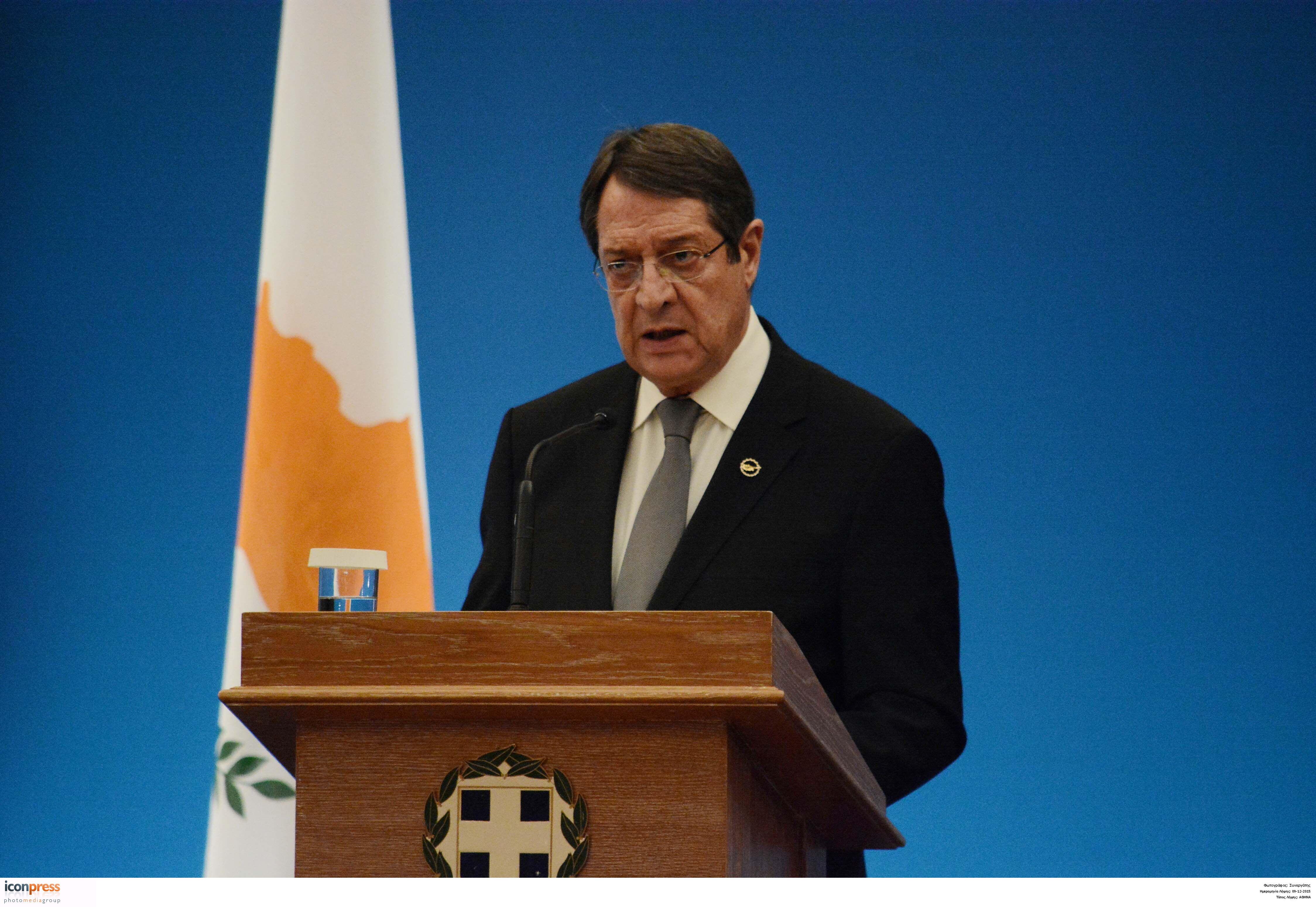 Τσίπρας σε Αναστασιάδη: Ανάγκη δίκαιης λύσης στο Κυπριακό | tovima.gr