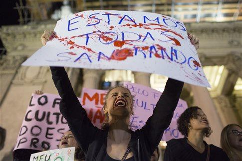 Ανθρωποκυνηγητό στο Ρίο για τη σύλληψη υπόπτων ομαδικού βιασμού   tovima.gr