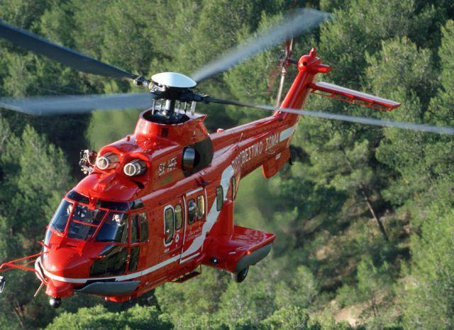 Ελικόπτερο της Πυροσβεστικής για αεροδιακομιδές του ΕΚΑΒ στη Β. Ελλάδα | tovima.gr