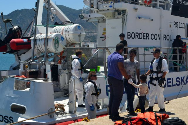 Μυτιλήνη: Σύλληψη μεταναστών και προσφύγων με πλαστά έγγραφα | tovima.gr
