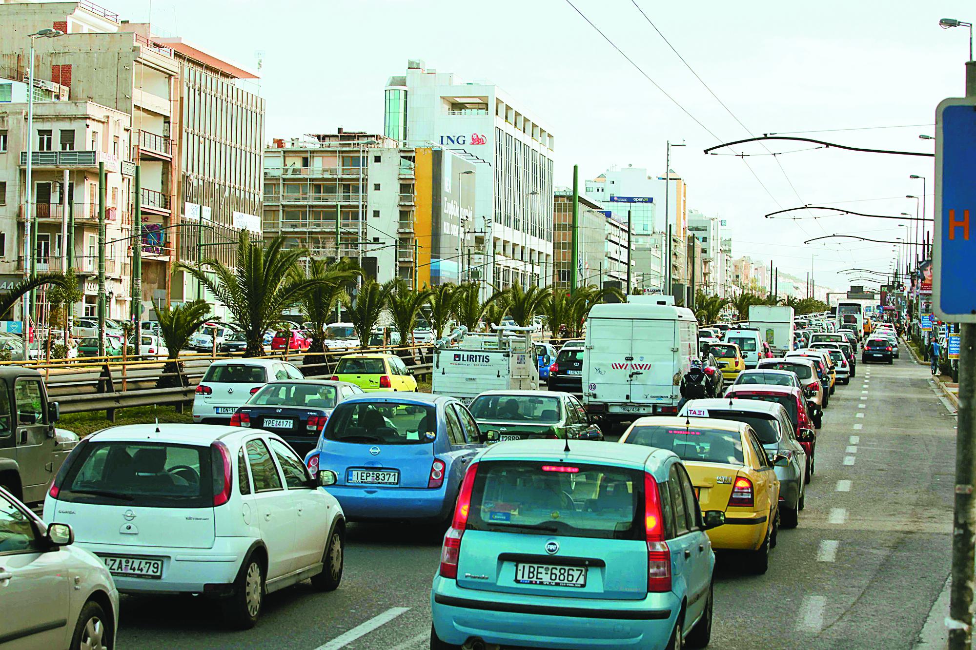 Ταλαιπωρία στους δρόμους, λόγω της απεργίας σε Μετρό-ΗΣΑΠ-Τραμ | tovima.gr