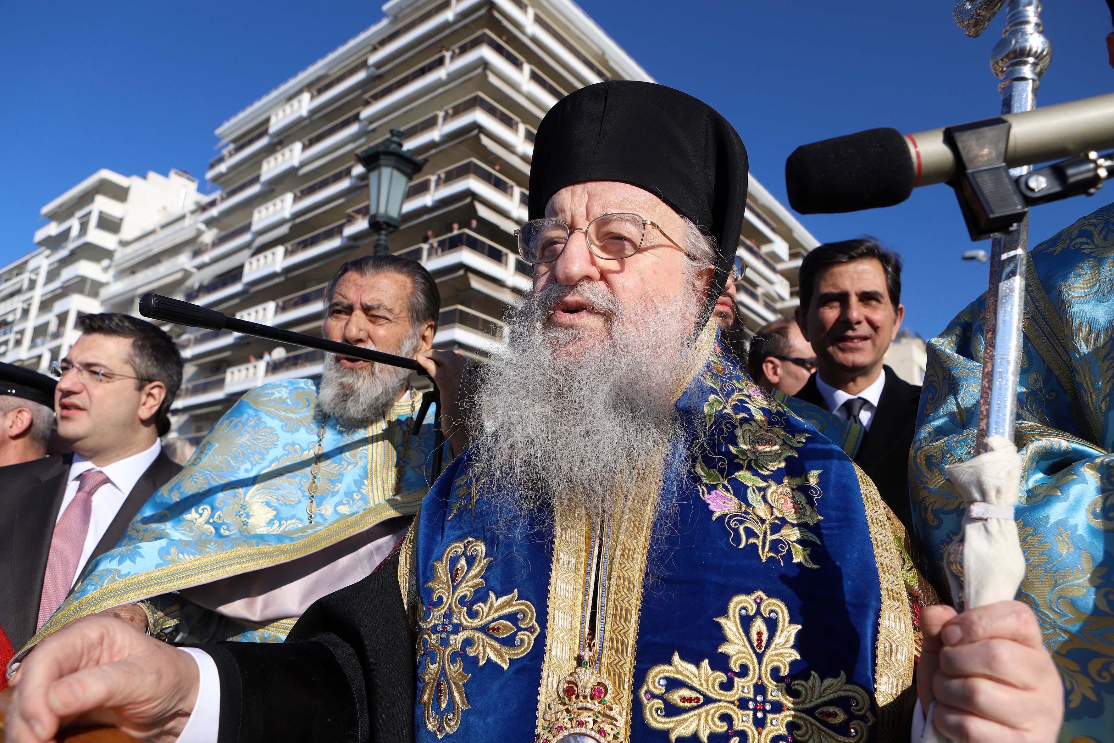 Άνθιμος: Θα τελέσει Θεία Λειτουργία για την πΓΔΜ | tovima.gr