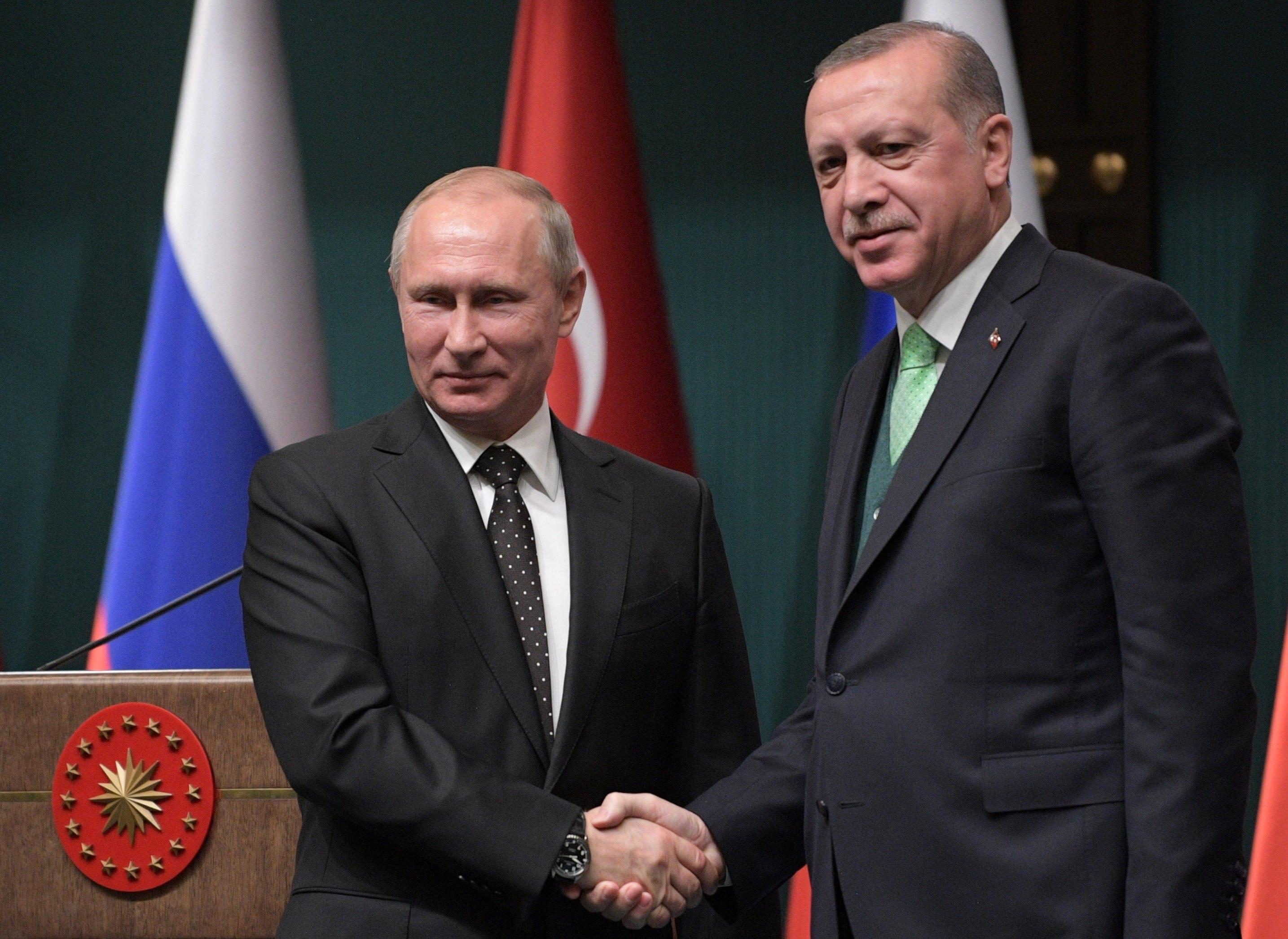 Συνομιλία Πούτιν – Ερντογάν για Συρία και ενεργειακά | tovima.gr