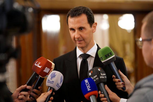 Ο Ασαντ επέστρεψε παράσημο που του είχε απονείμει η Γαλλία | tovima.gr