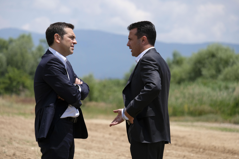 Δικαίωση Ζάεφ από τον Τσίπρα για «μακεδονική εθνότητα» | tovima.gr