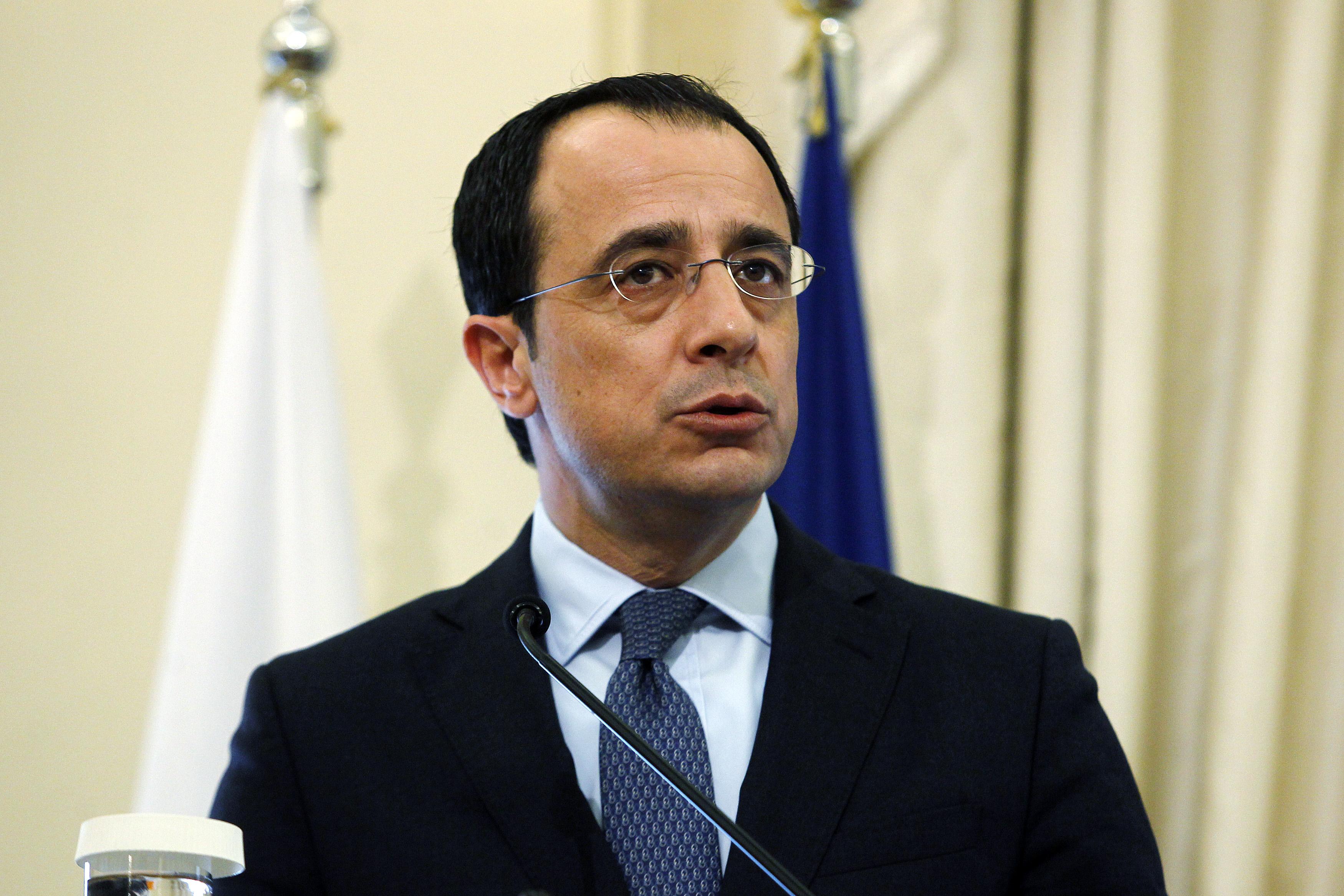 Χριστοδουλίδης:«Οι απειλές από όποιον και εάν προέρχονται είναι μια ένδειξη αδυναμίας» | tovima.gr