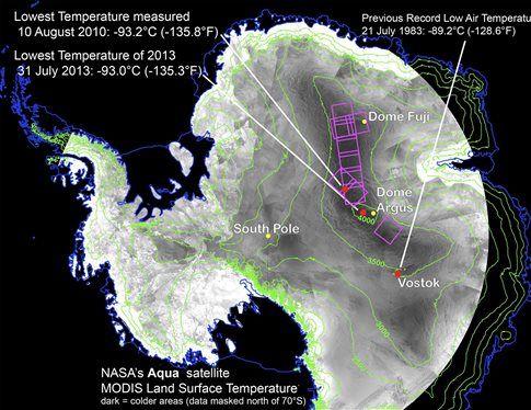 Το πιο κρύο σημείο στη Γη | tovima.gr