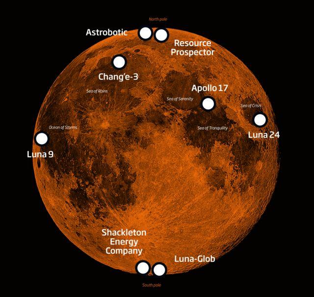 Ο «ανθρώπινος» χάρτης της Σελήνης | tovima.gr