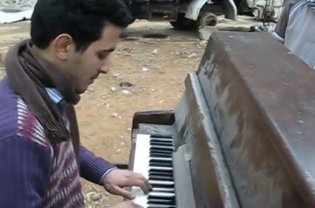 Συρία: Μουσική σε πολιορκημένο παλαιστινιακό καταυλισμό | tovima.gr
