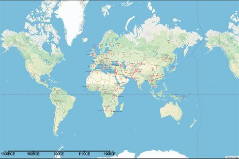 Διαδραστικός χάρτης αποκαλύπτει το γενετικό «ανακάτεμα» των λαών | tovima.gr