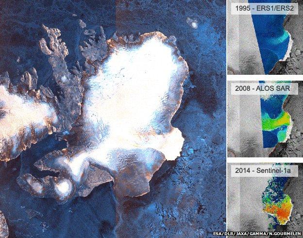 «Τρέχουν» οι πάγοι στην Αρκτική | tovima.gr