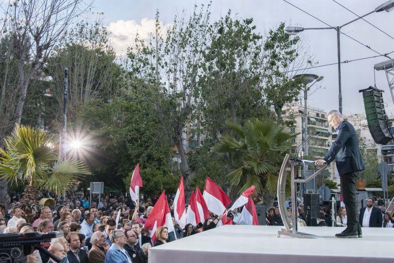 Με αιχμές κατά Μιχαλολιάκου η προεκλογική ομιλία Μώραλη   tovima.gr
