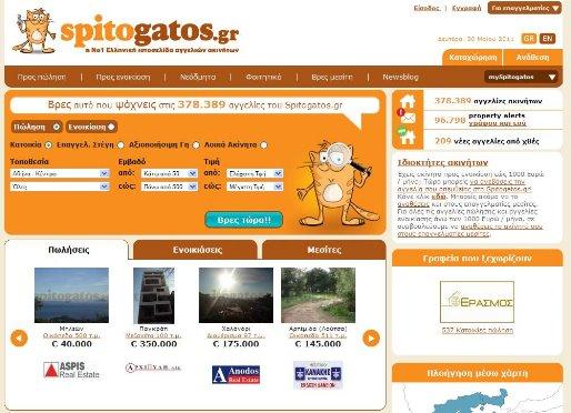 Σε ξένη εταιρεία η πλειοψηφία μετοχών της ιστοσελίδας Spitogatos.gr | tovima.gr