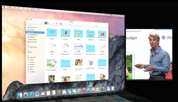 Η Apple προανήγγειλε το νέο λειτουργικό της σύστημα, Yosemite | tovima.gr