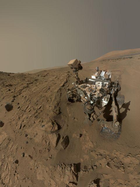 Αρειανά γενέθλια με μια selfie για το Curiosity | tovima.gr