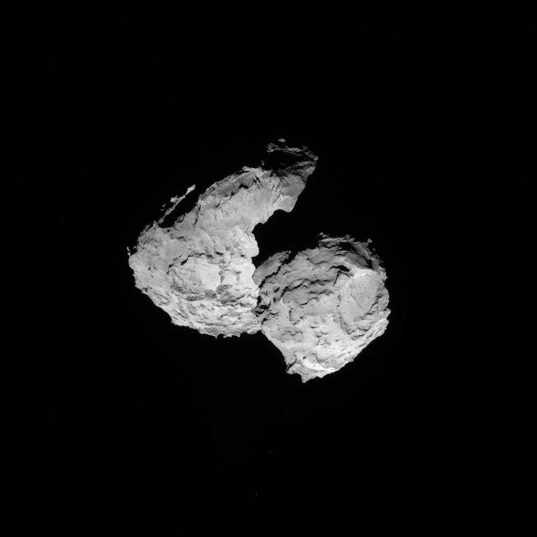 10 δισ. τόνοι η μάζα του κομήτη του Rosetta | tovima.gr