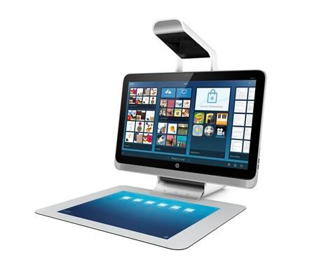 HP Sprout: Ξεχάστε το πληκτρολόγιο και το mouse, αγγίξτε το χαλάκι | tovima.gr