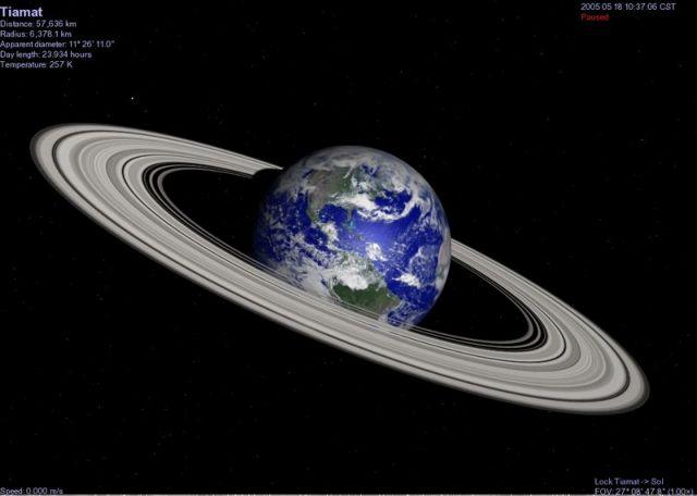 Πόσες φορές χωράει η Γη στα δαχτυλίδια του Κρόνου; | tovima.gr