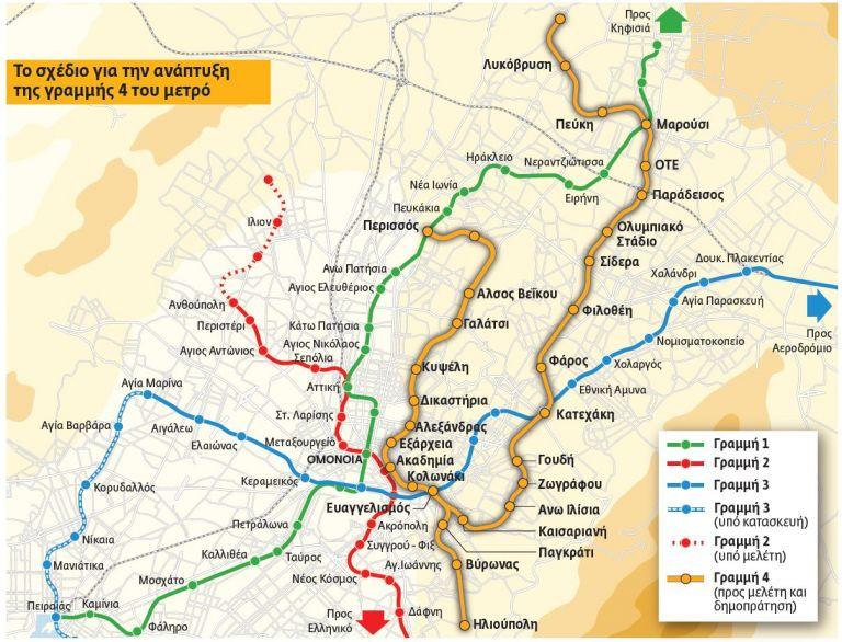 Μετρό: Τον Δεκέμβριο δημοπρατείται το τμήμα Αλσος Βεΐκου-Γουδή   tovima.gr