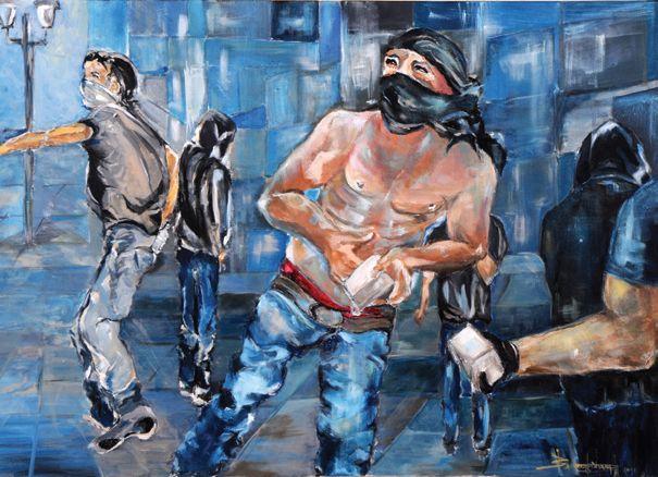 Κυβερνώντας την κρίση: η έκθεση ζωγραφικής της Πηνελόπης Βλαχογιάννη στη Θεσσαλονίκη | tovima.gr