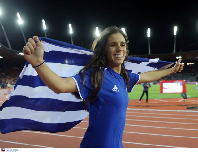 European Athletics names Katerina Stefanidi women's Euro Athlete for April | tovima.gr