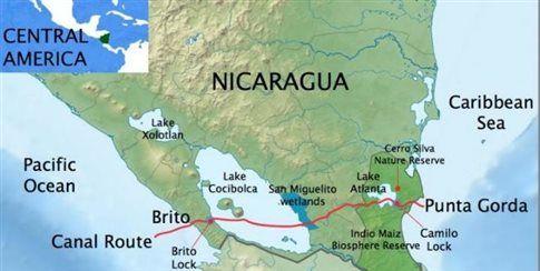 Διώρυγα της Νικαράγουας, μια «χαρακιά» στην Αμερική | tovima.gr