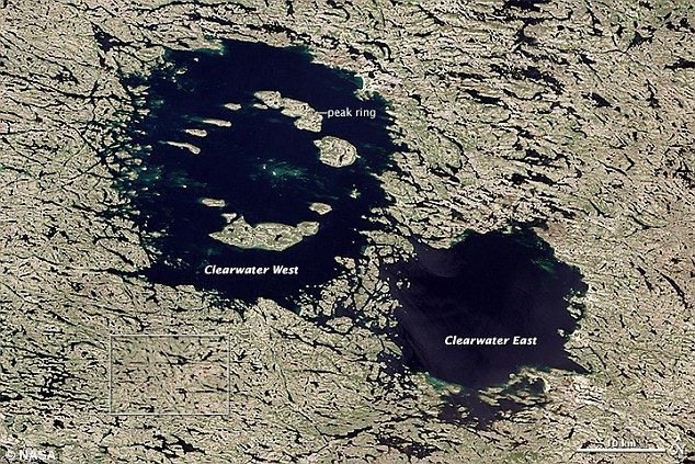 Αστεροειδείς έβαλαν στο σημάδι περιοχή του Καναδά | tovima.gr
