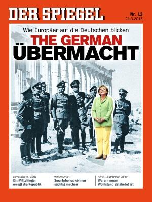 Το εξώφυλλο του Der Spiegel – «Η γερμανική υπερδύναμη»   tovima.gr