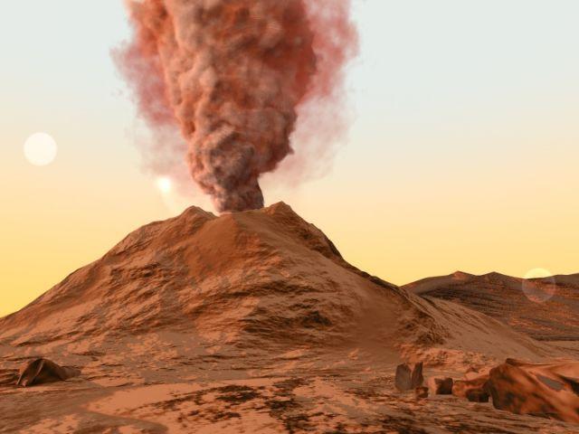 Τα ηφαίστεια του Αρη τον… ψεκάζουν με σκόνη   tovima.gr